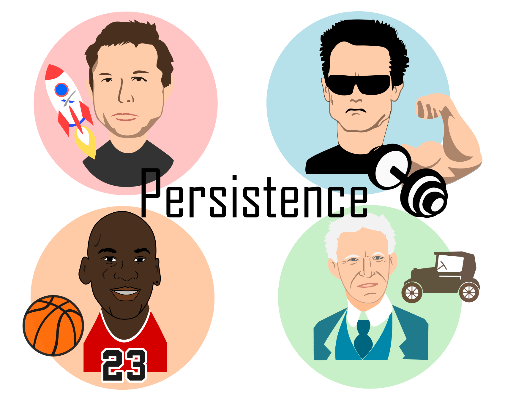Persistence most important skill
