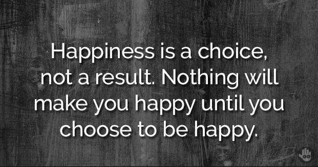 Make that choice to be happy and #FinishStrongFriday