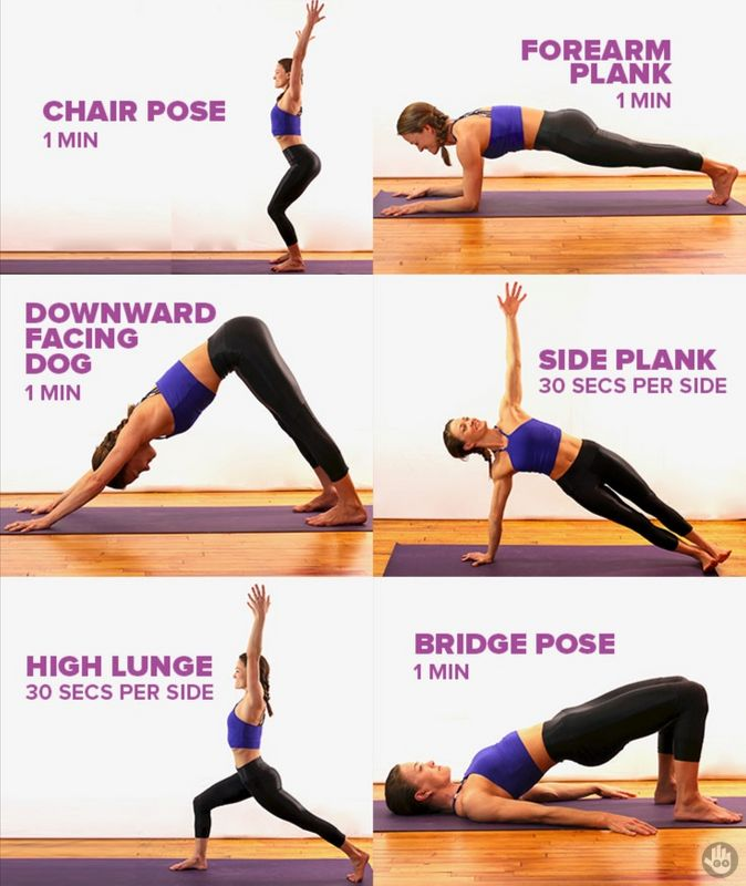 Can you hold these poses for 1 whole minute?